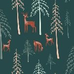 Art Gallery fabrics - Campsite - among the pines