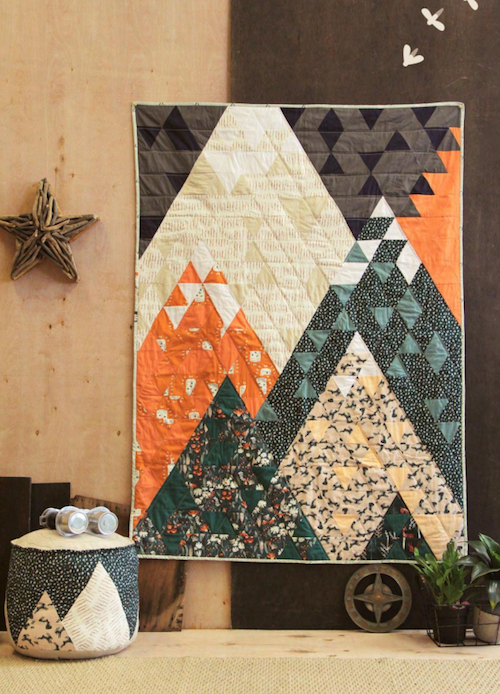 Art Gallery fabrics - Campsite - wild gatherings