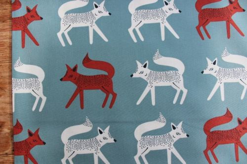 Art Gallery fabrics - Campsite - sneaky little foxes
