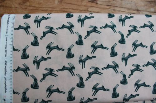 Art Gallery fabrics - Campsite - hopping hare
