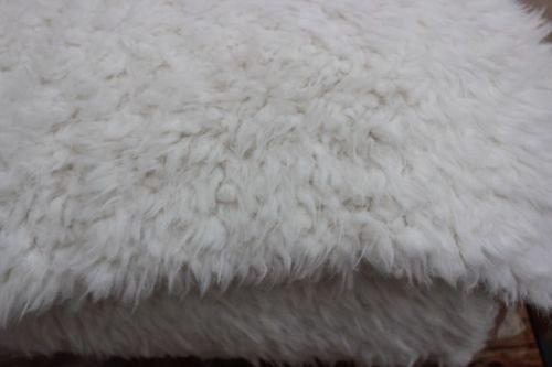 Shannon Fabrics Bonded Llama cuddle - ivory / beige
