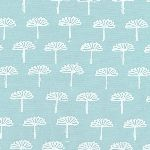 Karen Lewis Blueberry Park 3 stamped  in Dusty blue