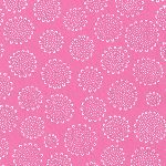 Karen Lewis Blueberry Park 3 Dalmation flower  candy pink