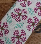 £9.00 YARD -Sarah Fielke spinning flower head