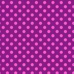 Tula Pink - ALL STARS, pom pom- Foxglove
