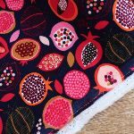 Dashwood Studios Baby CORDUROY tasty fruits in Aubergines
