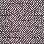 Cloud 9-Terrestrial herringbone in black CANVAS weight