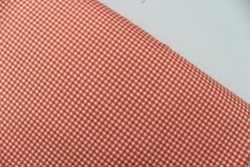 Heather Ross Trixie gingham in Tangerine