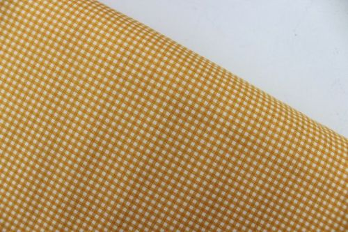 Heather Ross Trixie gingham in gold