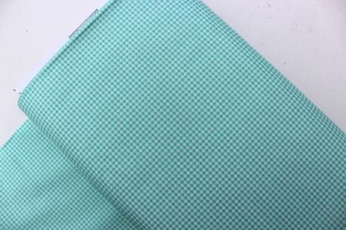 Heather Ross Trixie gingham in aqua