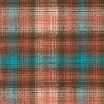 Robert Kaufman Mammoth Flannel -detailed check in mahogony