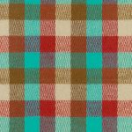 Robert Kaufman Durango Flannel -fun check in teal