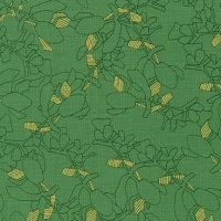 Carolyn Friedlander -CF Collection Flora in Moss  METALLIC