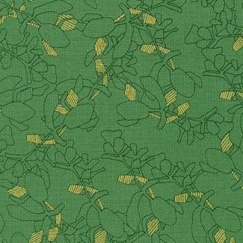 Carolyn Friedlander -CF Collection Flora in Moss  METALLIC