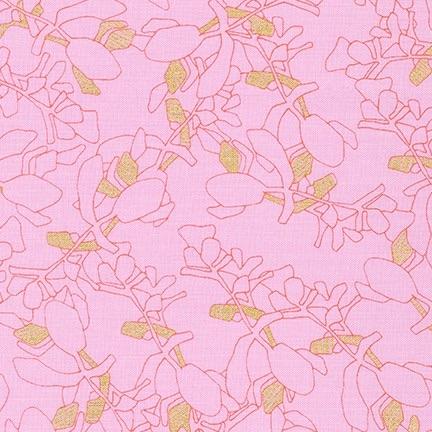 Carolyn Friedlander -CF Collection Flora in Petal METALLIC