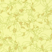 Carolyn Friedlander -CF Collection Flora in Bright  METALLIC