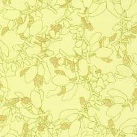 Carolyn Friedlander -CF Collection Flora in Bright  METALLIC