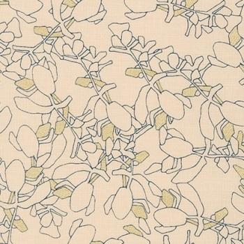 Carolyn Friedlander -CF Collection Flora in Linderie  METALLIC