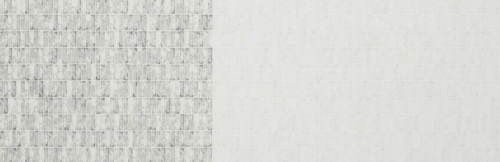 Carolyn Friedlander -JETTY- Wall tile singer border in Shitake