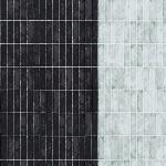 Carolyn Friedlander -JETTY- Wall tile singer border in pepper
