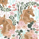 Dear Stella / Rae Ritchie Desert Bloom horses in multi