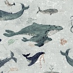 Katherine Quinn Whales tales story on cool grey