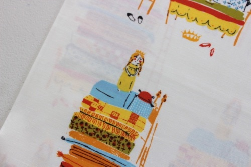 Heather Ross 20th Anniversary Princess and the pea