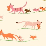 Heather Ross 20th Anniversary cats and kittens