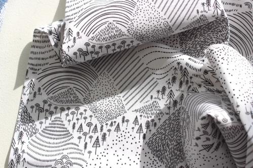 Art Gallery fabrics -Pine Lullaby - Mountain pines