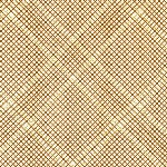 Carolyn Friedlander -CF Collection Tartan border in Pecan Metallic