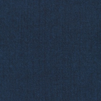 COMING SOON !Robert Kaufman Shetland FLANNEL herringbone in INDIGO