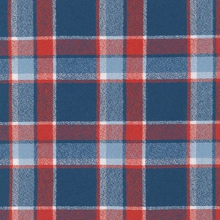 COMING SOON! Robert Kaufman Mammoth Flannel - traditional AMERICIANA