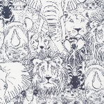 Cloud 9-  Sarah Watson Grasslands -wild things in grey