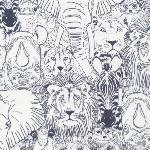 Cloud 9-  Sarah Watson Grasslands -wild things in grey