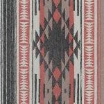"Robert Kaufman Taos Flannel - graphic print in BLACK - 42"""