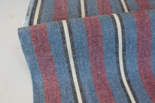 Robert Kaufman Taos Flannel -stripes in BLUE