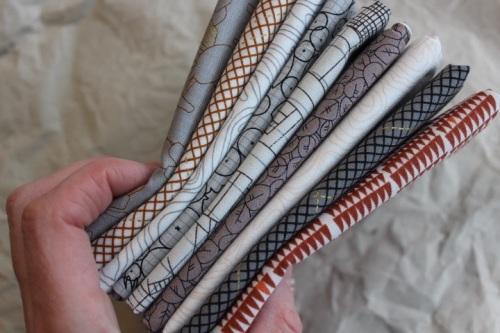 Mini Cloth stack Carolyn Friedlander CF Southern Dunes