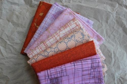 Mini Cloth stack Carolyn Friedlander CF lolly pop