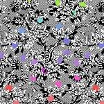 Tula Pink - LINEWORK - Lemur me alone