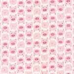 Cloud 9-DOO - littles - piggies in pink