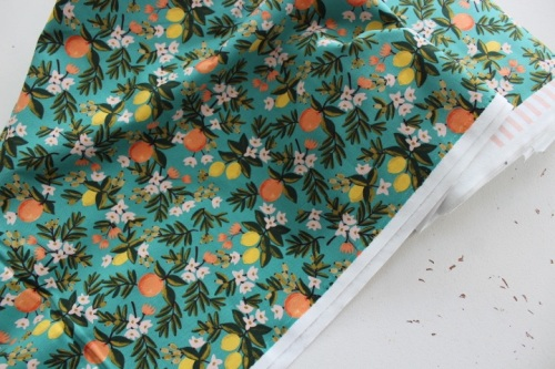 Rifle Paper Co. Menagerie-PRIMAVERA -citrus floral teal