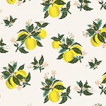 Rifle Paper Co. Menagerie-PRIMAVERA -citrus blossom - LEMON metallic