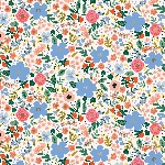 Rifle Paper Co. Menagerie-PRIMAVERA -wild rose -CREAM - Metallic