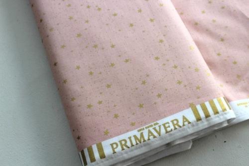 Rifle Paper Co. Menagerie-PRIMAVERA -stars -BLUSH - metallic