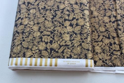 Rifle Paper Co. Menagerie-PRIMAVERA -stars -Moxie floral - BLACK