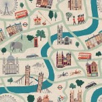 Cotton and Steel - London forever -sunny  day- CANVAS