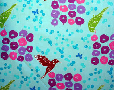 Echino Flower Bed with bird