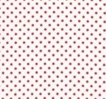 Tanya Whelan red 4mm spot on white