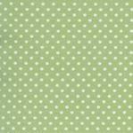 Robert Kaufman 4mm celery dot