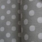 Lecien 6mm ice grey dot